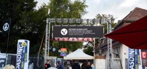 Schnelltestzentrum Mannheim unterstützt Fortland Festival